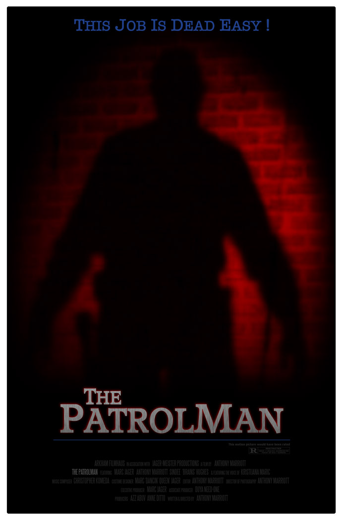 The Patrolman Horror Festival Poster