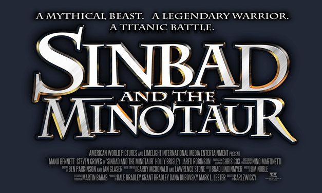 Sinbad and the Minotaur title