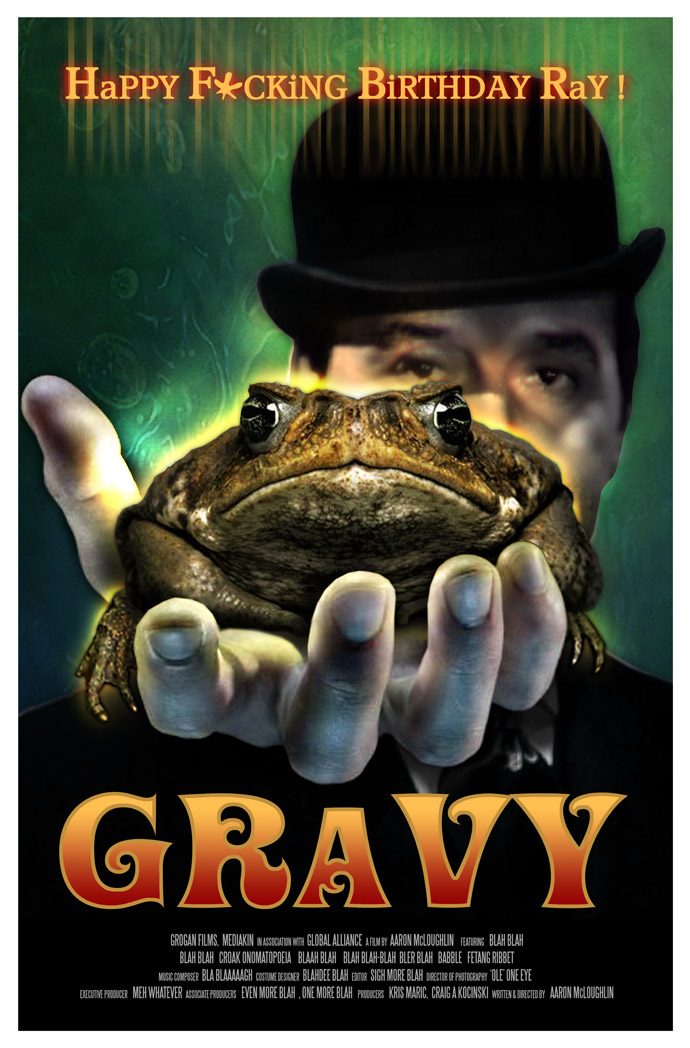 Gravy Film Poster-A  birthdaythat will take you to infinity and beyond!