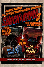 Aaron Wakem's Nocturn Shock o Rama 3 poster