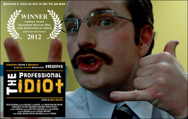 the Professional Idiot wins 2012 GC film fest audience award