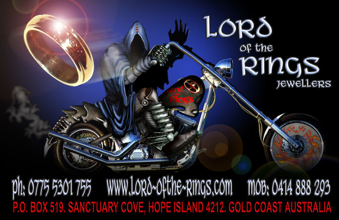 LOTR Jeweller business card