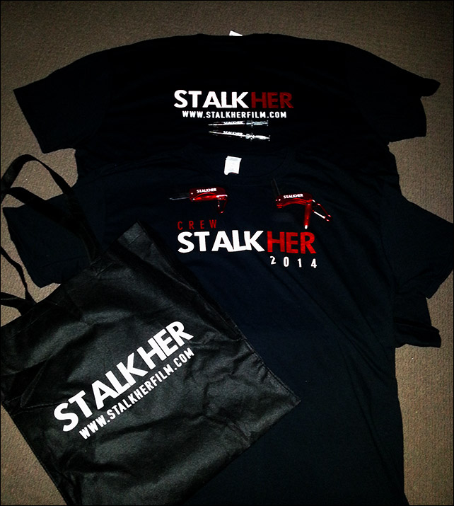 Stalkher (2014) Queensland feature film promotional material