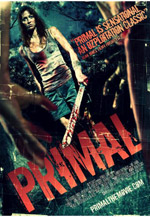 Primal Poster art is featured on this site only as a reference to Lindsay Farris' previous work. Arkhamhaus Images was not involved with any artwork for this Australian horror feature.