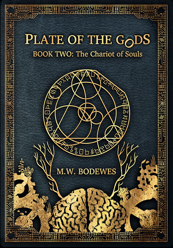 Cover art for The Chariot of Souls, the second E-novel in M.W Bodewes' Plate of the Gods Trilogy