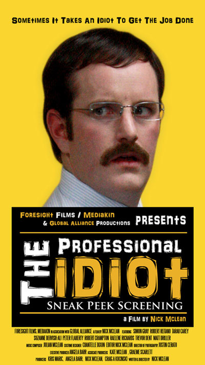 The Professional Idiot Sneak Peak Poster