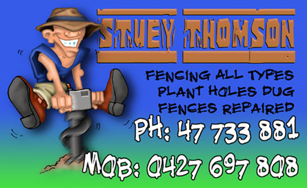 Stuey Thomson Business card
