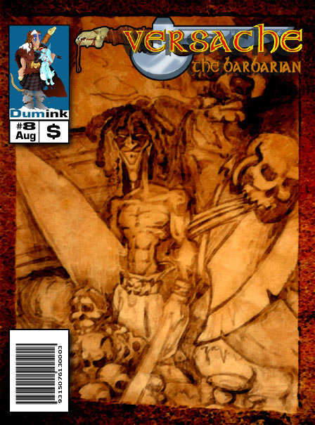 Versache the Barbarian comic cover