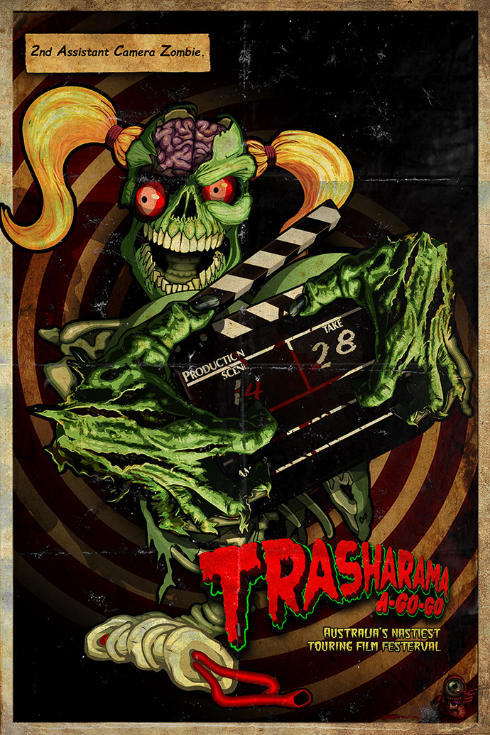 Trasharama film Festival's 2nd Assistant Camera-Ghoul