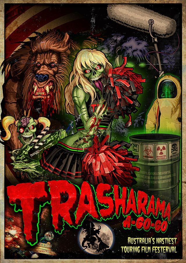 Latest Promotional poster for www.trasharama.com