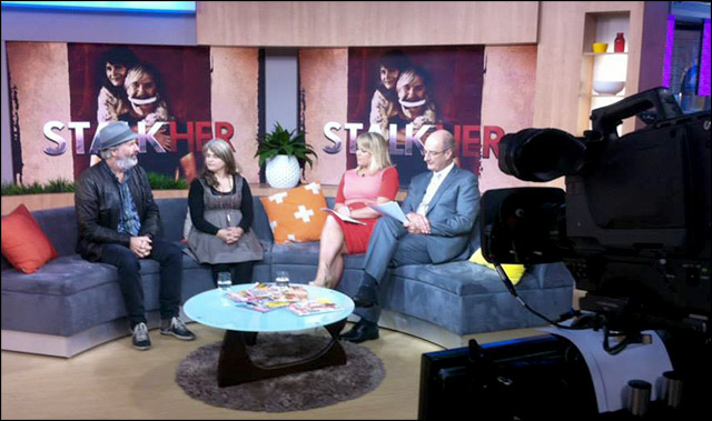 Australia's Channel Seven Morning show interview with John Jarrat and Kaarin Fairfax